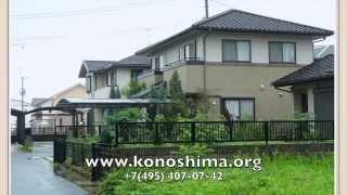 Konoshima Японский фасад дома(