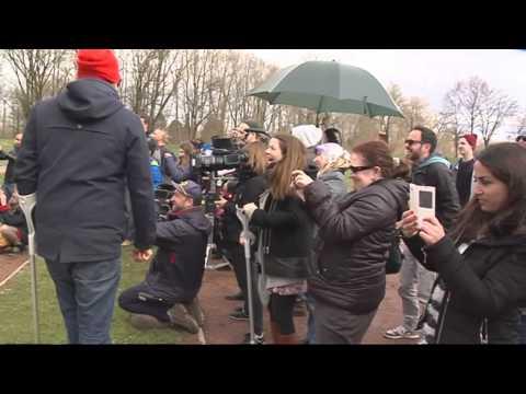 Dreh in Augsburg: Andreas Bourani ganz ohne Starallüren