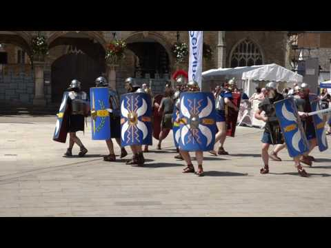 Roman Military Research Society, Peterborough Cathedral 18/06/2017.