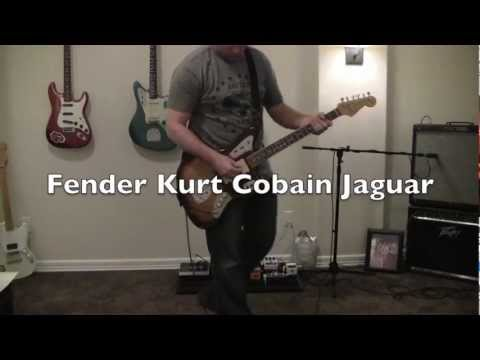 Fender Kurt Cobain Jaguar Clean Demo