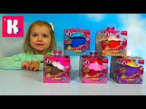 Ароматные капкейки  /Куклы сюрприз / Обзор игрушек