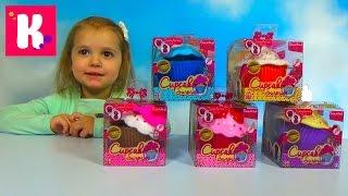Ароматные капкейки куклы сюрприз распаковка игрушек Cupcake Surprise doll unboxing