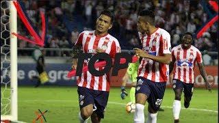 5 golazos de Teófilo Gutiérrez en Junior | El Top de Win Sports