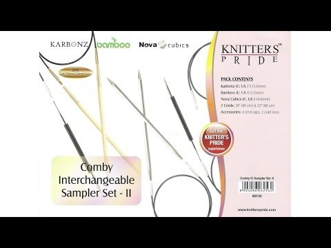 Giveaway! Knitter's Pride Comby Interchangeable Sampler Set