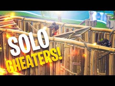 I CAUGHT THEM TEAMING IN SOLO! - Fortnite Battle Royale