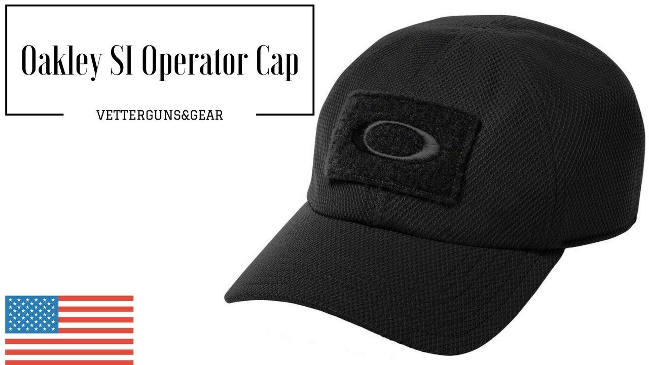 f494c12f776 Oakley SI Operator Patch Cap - YouTube
