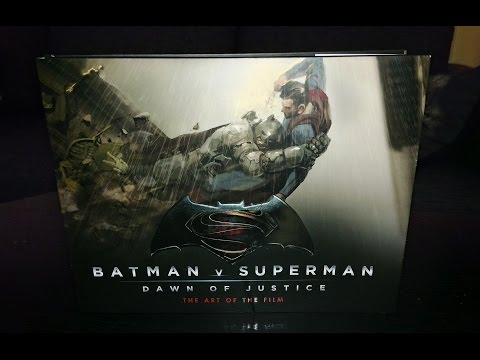 Batman v. Superman: Dawn of Justice - The Art of The Film (Book)