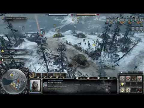 Company of Heroes 2 - Operation Barbarossa DLC - Faceoff at Rostov - General Difficulty