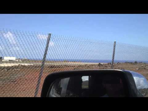 Drive to work every morning Ascension Island