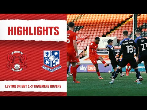 Leyton Orient Tranmere Goals And Highlights