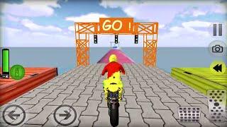 Jogos de Motos Para Crianças - Moto Bike Stunt Racing - Motos de Corrida