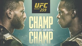UFC 259 LIVE Stream | Adesanya vs Blachowicz Full Fight Companion (Watch Along Live Reactions)