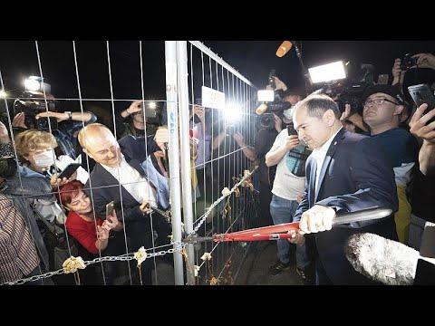 Польша открыла границы с соседями