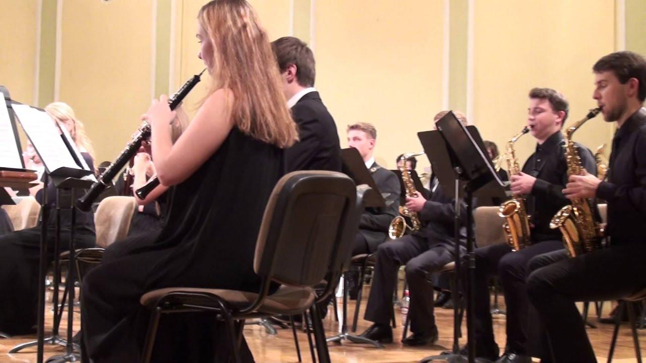00614 JVLMA Pūtēju orķestra koncerts, 25.10 2015 JVLMA Lielā zālē