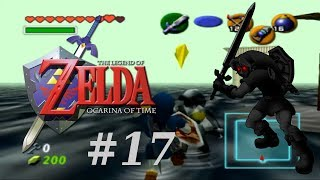 Vamos jogar - The Legend of Zelda: Ocarina of Time #17 - mais templo da água e NOOBADAS!