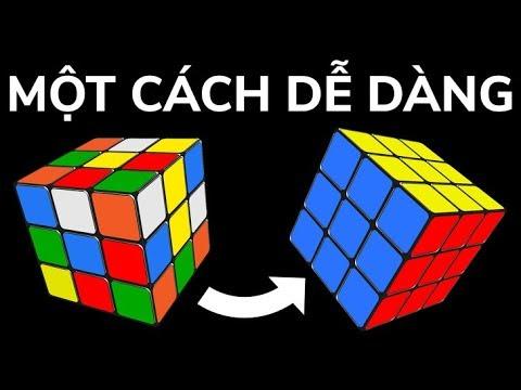 Hướng dẫn cách giải khối Rubik 3×3 nhanh nhất và đơn giản nhất