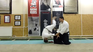 hanmi handachi gyakuhanmi katatedori battonage- [TUTORIAL] Aikido empty hand basic technique