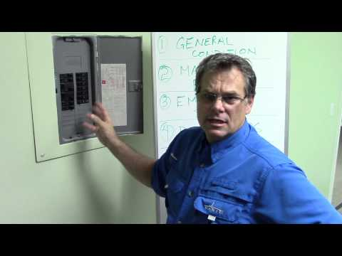 4 Point Home Inspection:  Electrical Panel