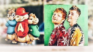 Ed Sheeran ~ I Don't Care ft.Justin Bieber ~ Chipmunk Version