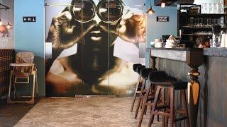 видео Дизайн интерьера современного кафе