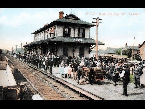 Vintage Scenes Of Lindsay, Ontario