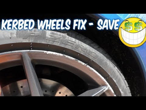 Save  £hundreds repairing kerbed or damaged Alloy Wheels