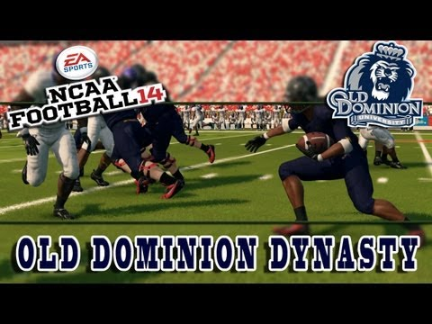 NCAA 14 Old Dominion Dynasty Series - Season 2 Week 8 (vs #21 Oregon State)