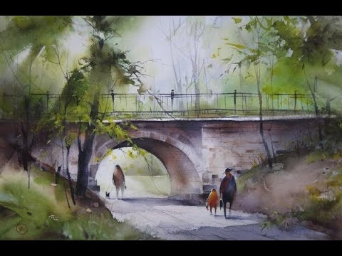 Drawing Watercolor Ilya Ibryaev Art Youtube