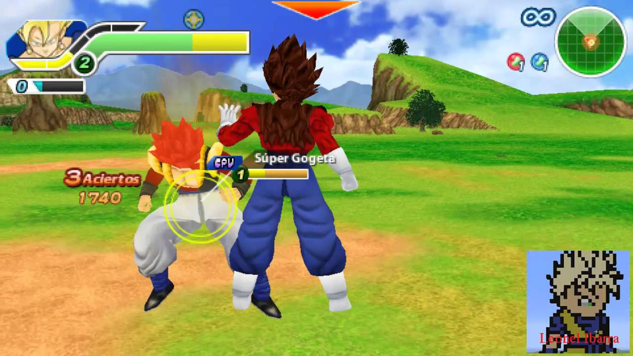dragon ball tag team ppsspp