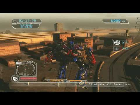 Transformers 2 Revenge of the Fallen Walkthrough 12 Last Gang Around HD Autobot