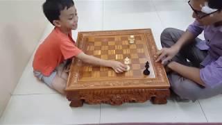 Cờ vua - Chiếu hết bằng Vua và Xe - Dạy con chơi cờ vua