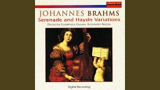 Haydn Variations Op. 56a: Variation 4. Andante Con Moto