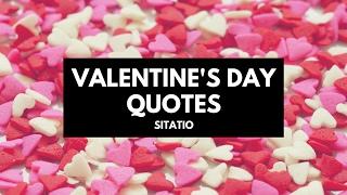 Valentine's Day ♥ quotes - Sitatio