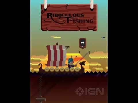 Official Ridiculous Fishing - A Tale Of Redemption Launch Trailer