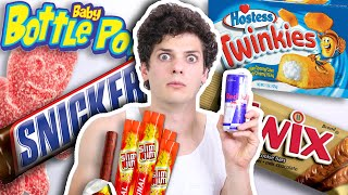 HEALTH FREAK Tries Junk Food for FIRST TIME
