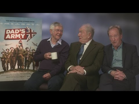 FUNNY: Dad's Army legends learn about bromance