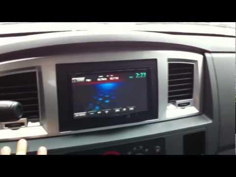2008 Dodge Ram 2500 Diesel JVC KW-AVX840 Double din Camera AL & ED'S Autosound