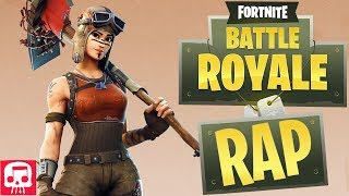 FORTNITE BATTLE ROYALE RAP by JT Music (feat. Rockit Gaming) - 'Battle Bus Boogie'