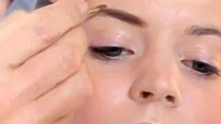 Уроки макияжа. Как правильно красить брови. Коррекция бровей с помощью теней.