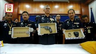 Sorok pistol bawah bantal untuk kaburi polis