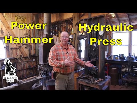 Why Choose The Power Hammer Over The Hydraulic Press