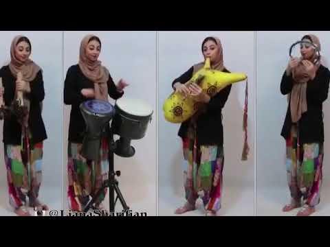 Liana sharifian لیانا شریفیان_نی انبان_bagpipe