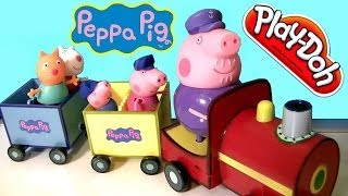 Peppa Pig Riding Grandpa Pig