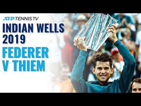 Extended Highlights: Roger Federer V Dominic Thiem | Indian Wells 2019 Final