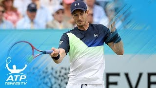 Murray Returns; Djokovic and Kyrgios Advance | Queen's 2018 Day 2 Highlights