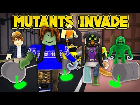 MUTANTS INVADE JAILBREAK! (ROBLOX Jailbreak)