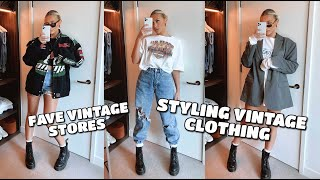 STYLING VINTAGE CLOTHING | FAVE ONLINE VINTAGE STORES