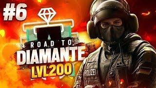 BANDIT ASSURDO - LIVELLO 200!! - Road To Diamond #6 - Rainbow Six Siege