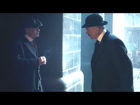 Tommy corners Major Campbell  Peaky Blinders: Series 2 Episode 3 P  BBC Two