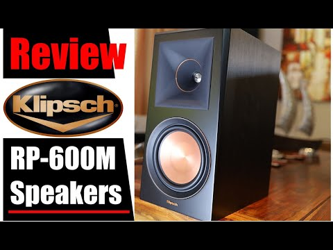 Review: Klipsch RP-600M Speakers